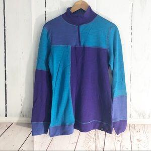 Neve • Wool Blend Base Layer 1/4 Zip